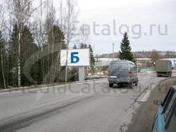 Рекламный щит Приозерское шоссе, 56400 м - Приозерское и Новоприозерское шоссе (А129, А121) .