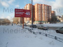 Билборд (3x6): Екатеринбург, Тверитина ул. Х Луначарского ул.