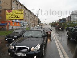 Билборд (3x6): Екатеринбург, Восточная ул. Х Первомайская ул.