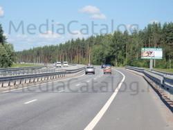 Рекламный щит Новоприозерское шоссе, 5550 м, справа - Приозерское и Новоприозерское шоссе (А129, А121) .