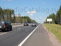 Рекламный щит Новоприозерское шоссе, 23000 м, справа - Приозерское и Новоприозерское шоссе (А129, А121) .
